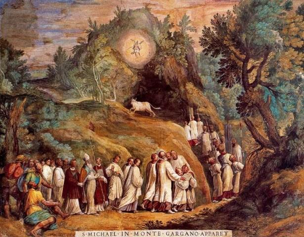 Apparizione di san Michele Arcangelo sul monte Gargano