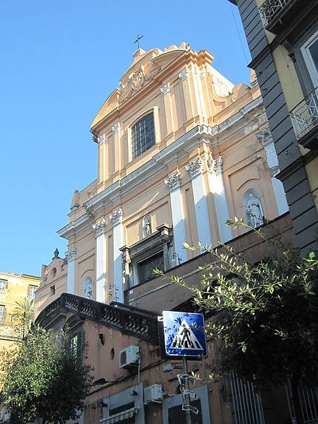 Chiesa di S. Teresa degli Scalzi, Napoli