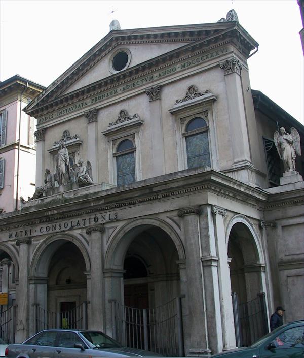 Chiesa di S. Maria della Consolazione al Castello, Milano