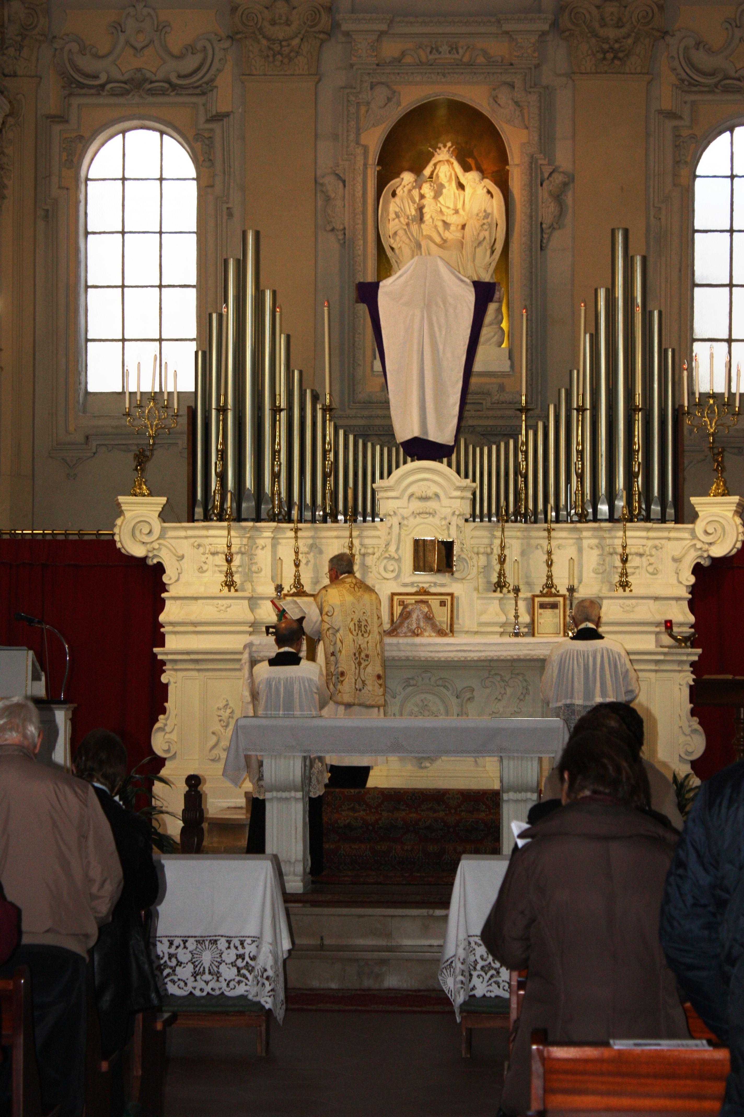 Chiesa di S. Francesco di Paola Lecce Giovedì Santo