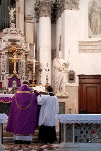 Messa di mons. Richard Soseman a Venezia il 24 gennaio 2016 1