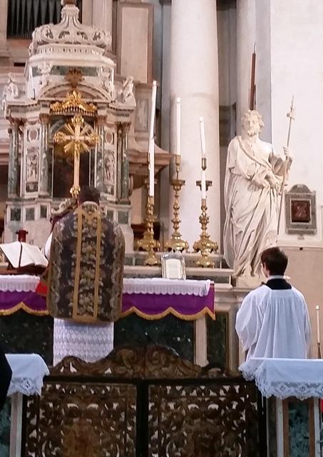 Messa di mons. Richard Soseman a Venezia il 24 gennaio 2016 2