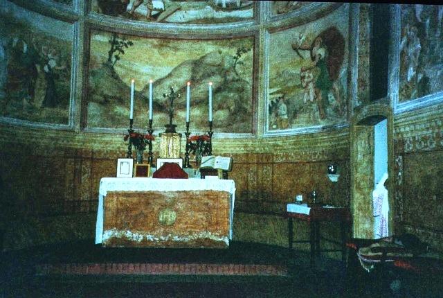 Chiesa della Santissima, Pordenone prima dell'alluvione