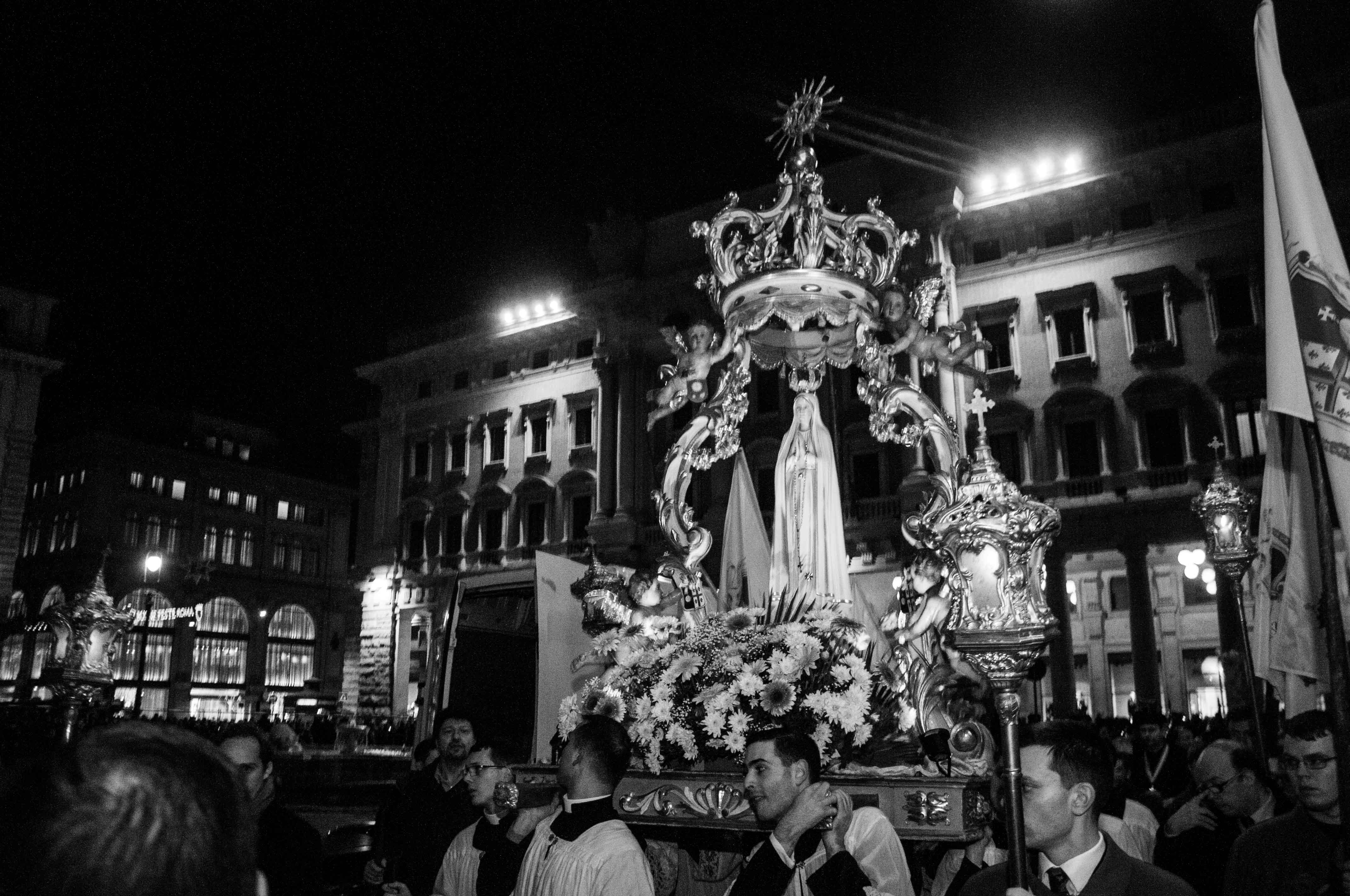 Roma, 8 dicembre 2016 processione dell'Immacolata 4