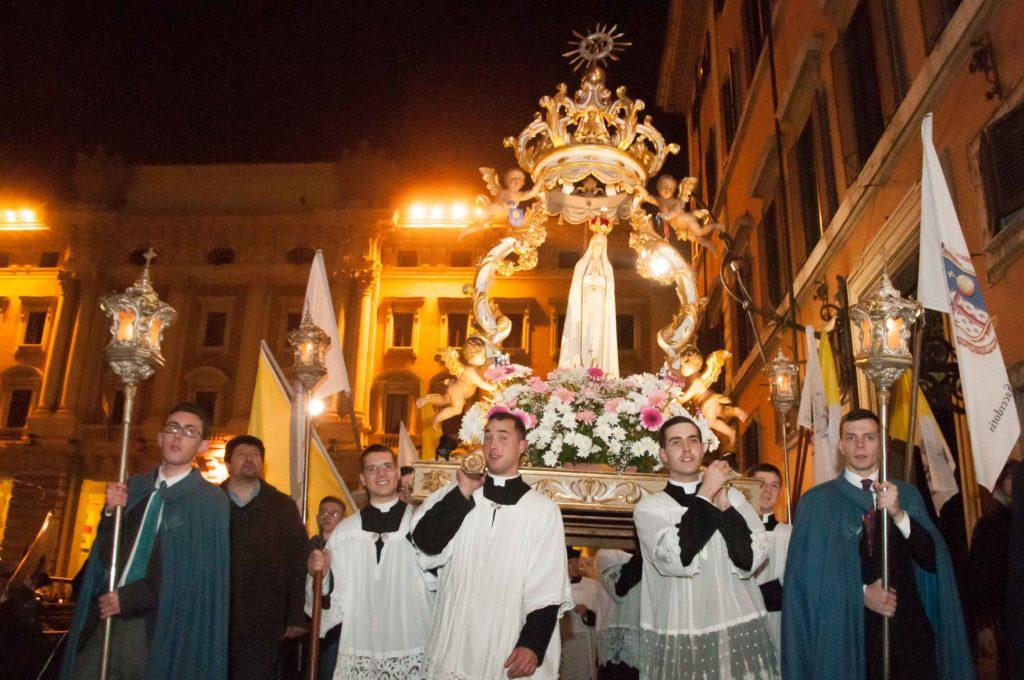 Roma, 8 dicembre 2016 - Processione dell'Immacolata 5
