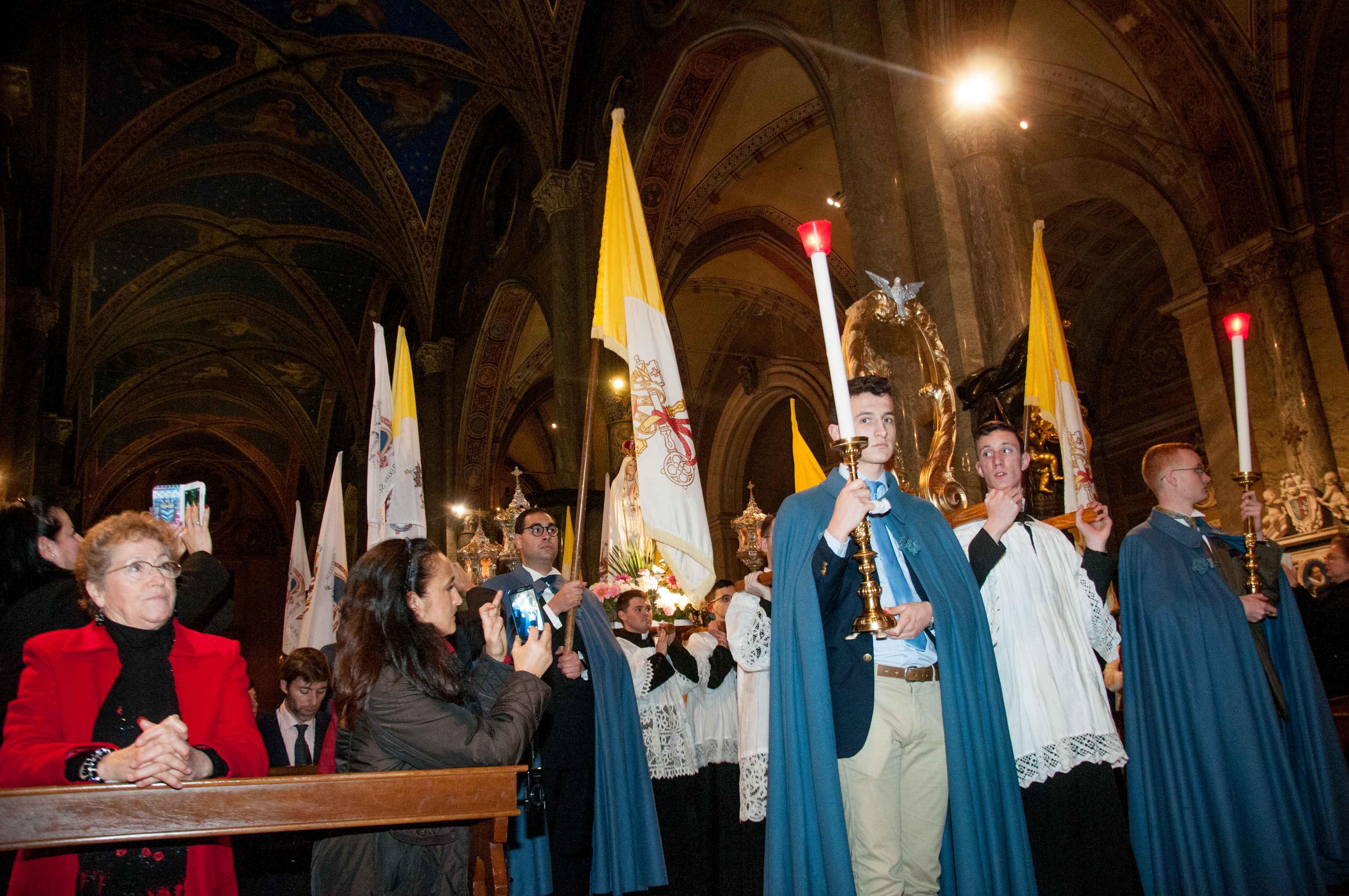 Roma, 8 dicembre 2016 - Processione dell'Immacolata 9