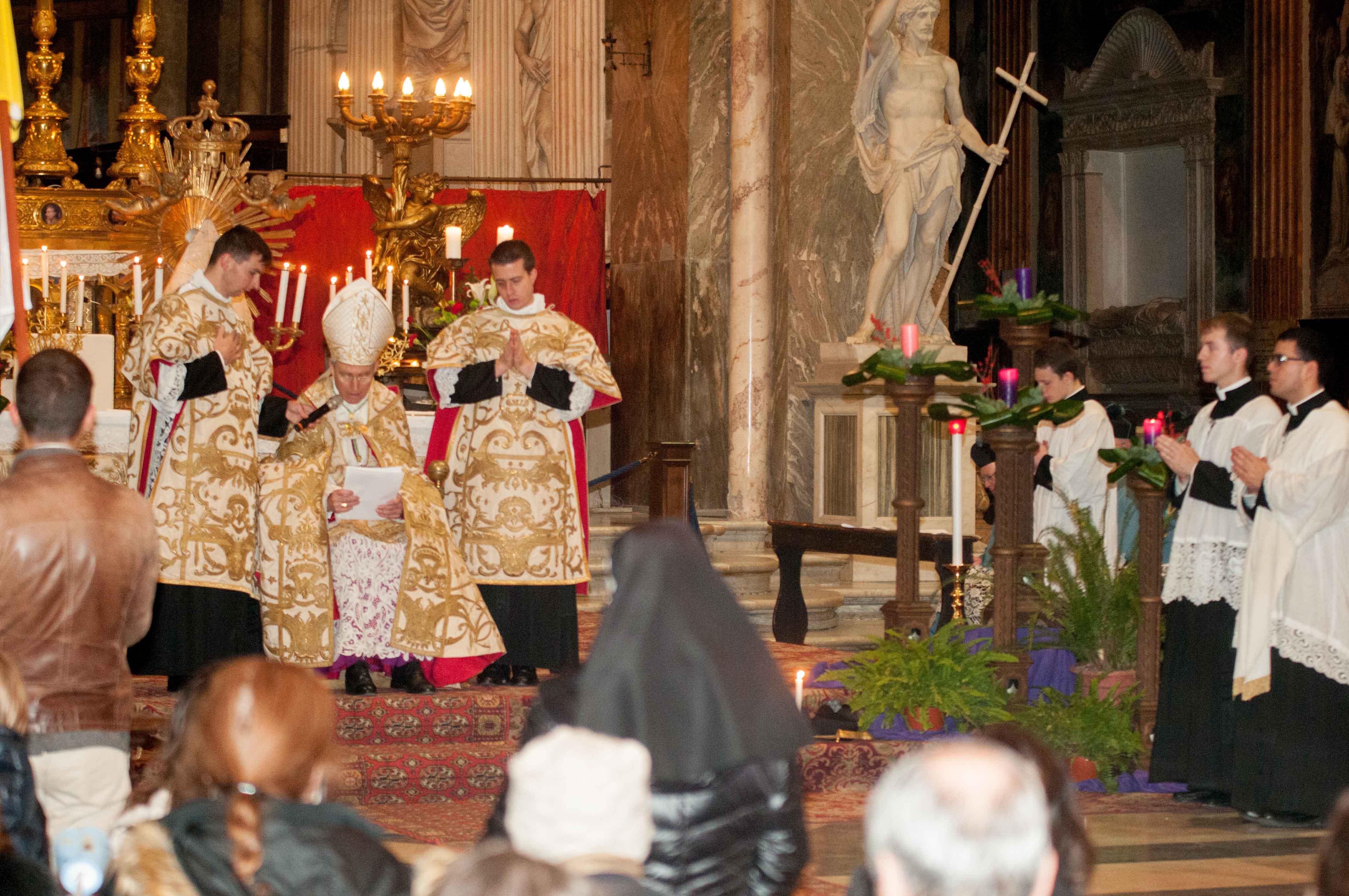 Roma, 8 dicembre 2016 - Processione dell'Immacolata 10