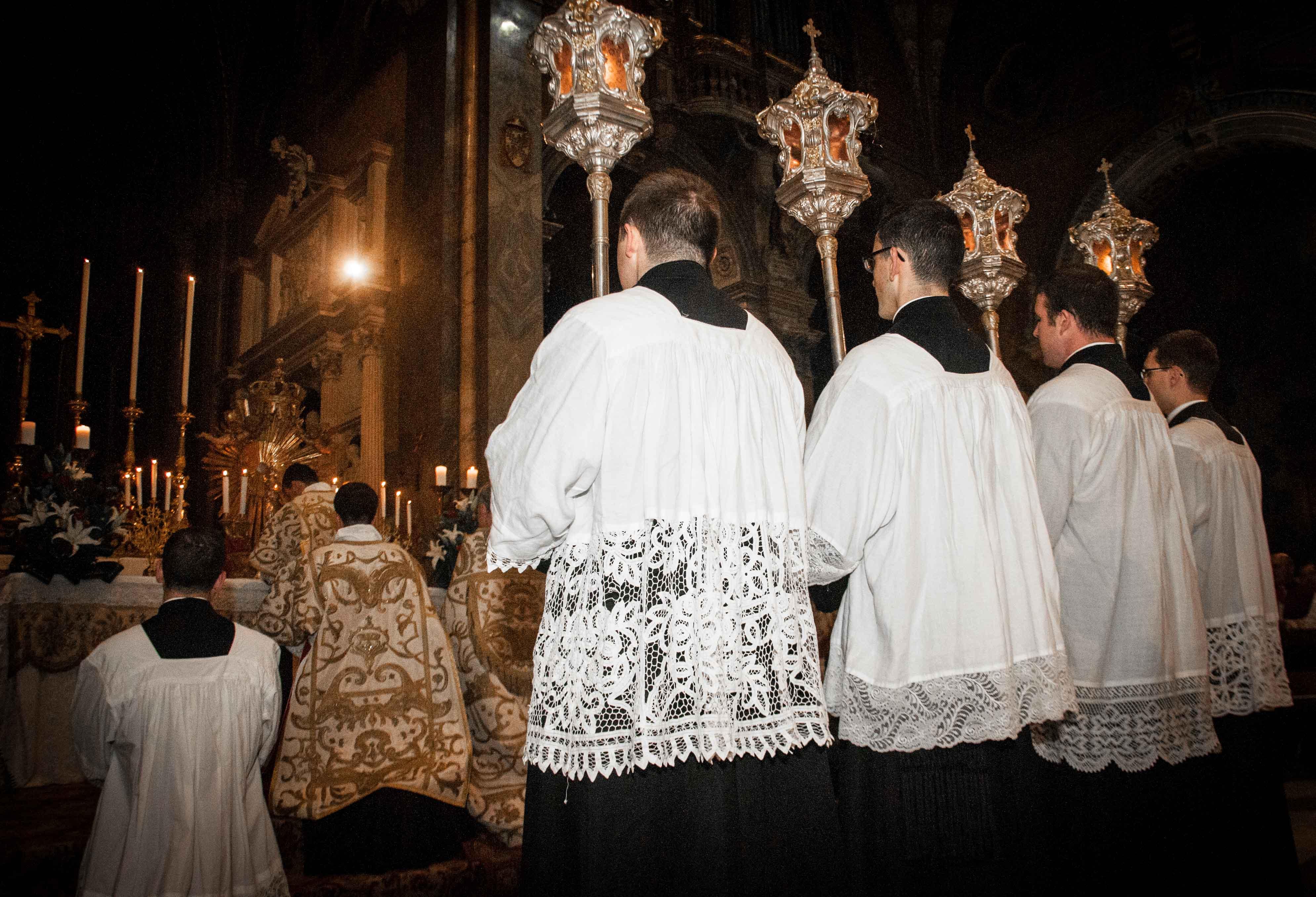 Roma, 8 dicembre 2016 - Processione dell'Immacolata 13