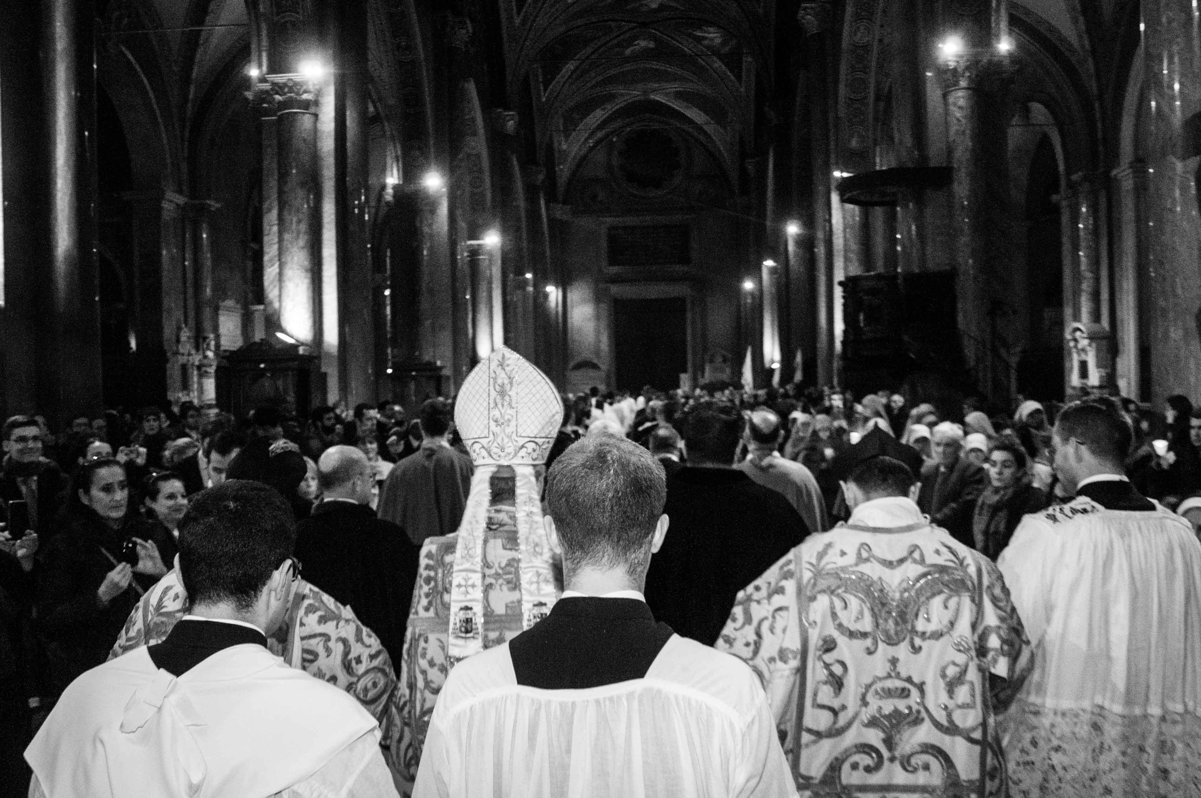 Roma, 8 dicembre 2016 - Processione dell'Immacolata 17