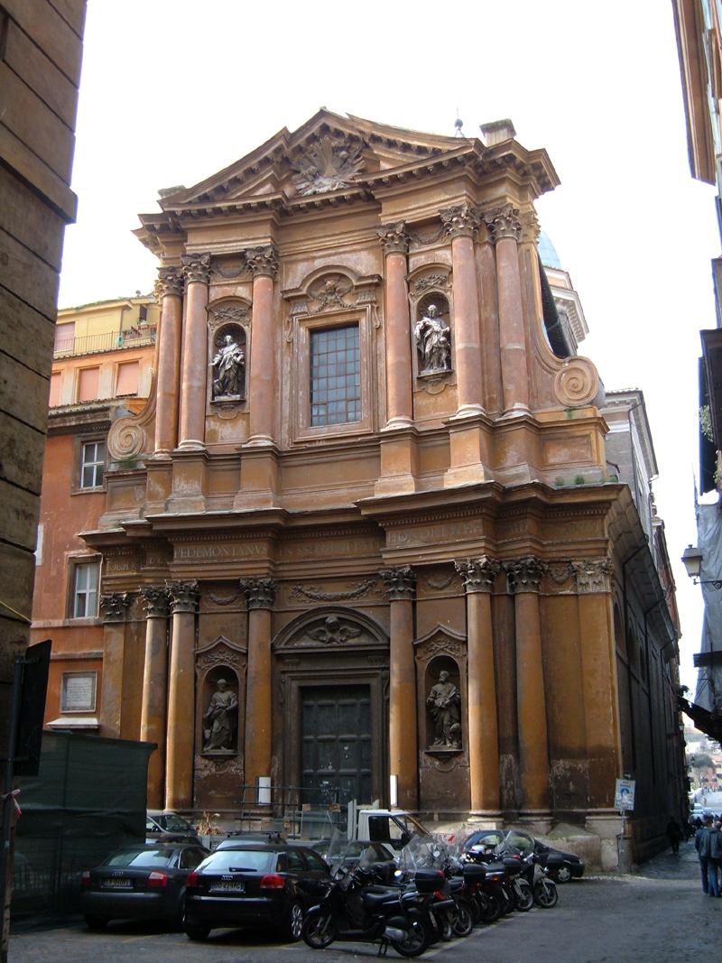 Chiesa della Ss.ma Trinità dei Pellegrini, Roma