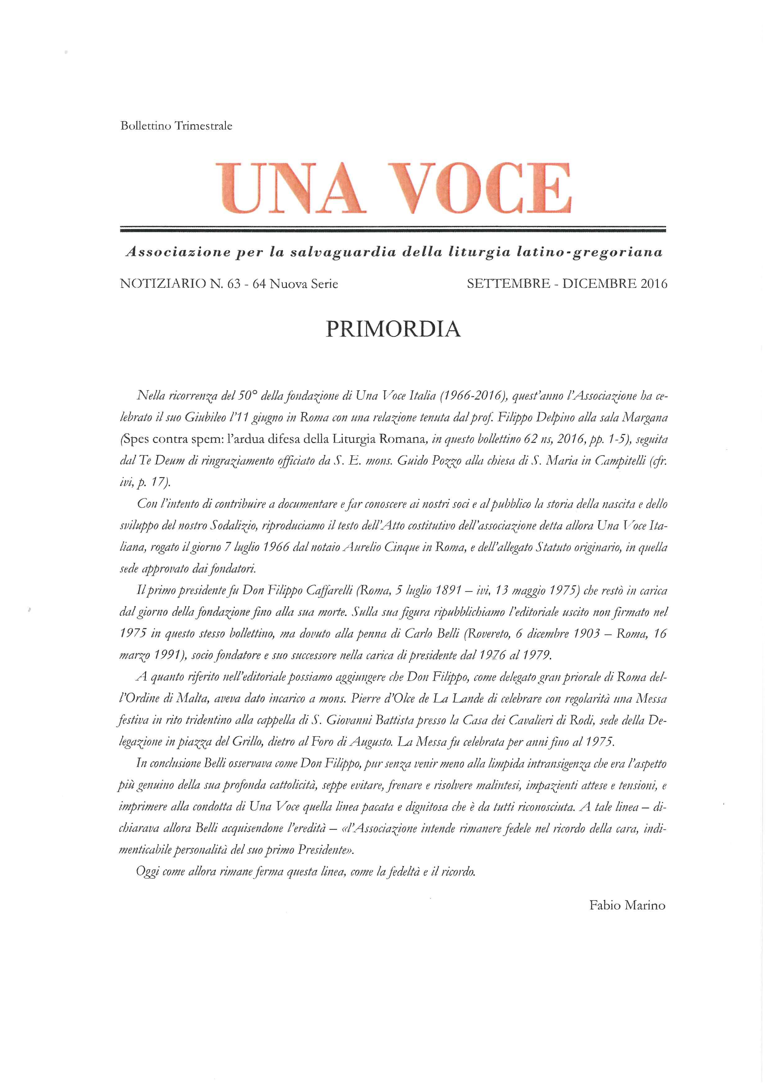 Una Voce Notiziario 63-64 ns