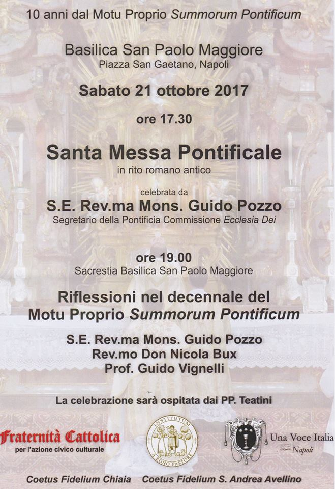 Napoli, 21 ottobre 2017