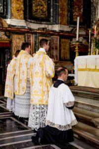 Messa solenne di mons. Soseman a Roma l'8 ottobre 2017 2