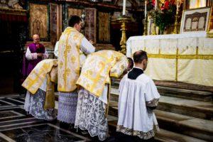 Messa solenne di mons. Soseman a Roma l'8 ottobre 2017 3