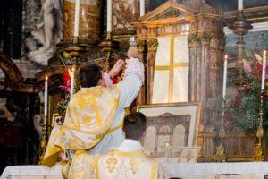 Messa solenne di mons. Soseman a Roma l'8 ottobre 2017 9