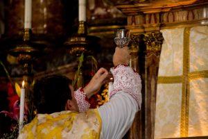 Messa solenne di mons. Soseman a Roma l'8 ottobre 2017