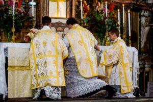 Messa solenne di mons. Soseman a Roma l'8 ottobre 2017 10