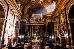 Messa solenne di mons. Soseman a Roma l'8 ottobre 2017 11