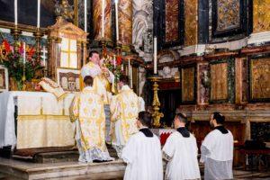 Messa solenne di mons. Soseman a Roma l'8 ottobre 2017 12