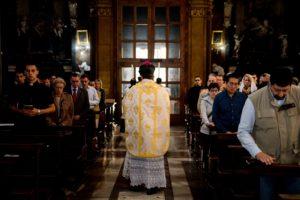 Messa solenne di mons. Soseman a Roma l'8 ottobre 2017 14