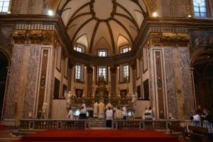 Napoli 21 ottobre 2017 pontificale di mons. Guido Pozzo alla basilica di S. Paolo Maggiore 2