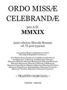 Ordo Missae celebrandae pro A. D. MMXIX