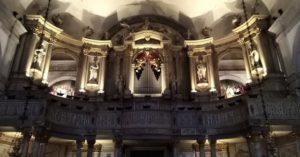 Chiesa S. Rocco Venezia organo Nacchini