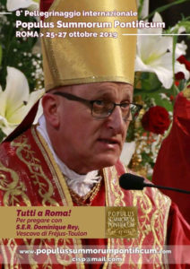 VIII Pellegrinaggio Internazionale Summorum Pontificum, Roma 25-27 ottobre 2019